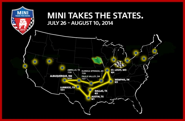 Our MTTS Route