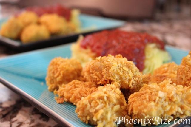 Dill Dip Chicken Bites