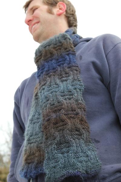 Ameeta Scarf, Knitting