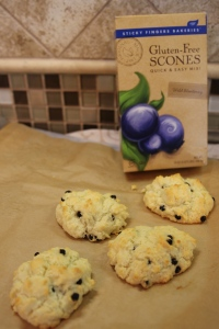 Sticky Fingers Bakeries GF Scones