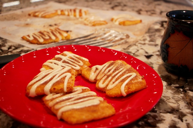 Low Carb, Gluten Free, Cinnamon Squares